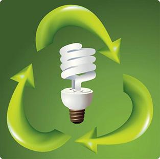 Recycling Compact Fluorescent Light Bulbs